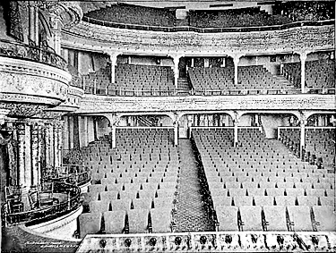 Abbey Theatre Interior Photograph