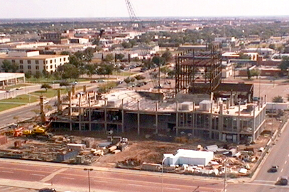 Construction web cam photo