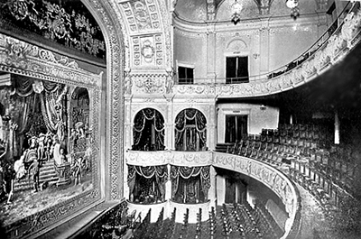 Fifth Avenue Theatre Interior Photograph