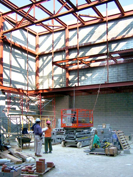 Photo of drama studio construction