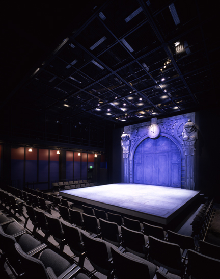 Photo of new drama studio