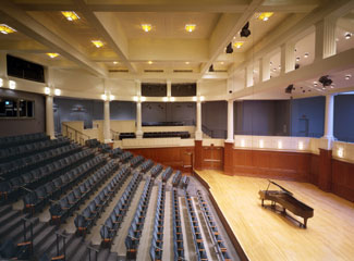 Photo of Recital Hall interior