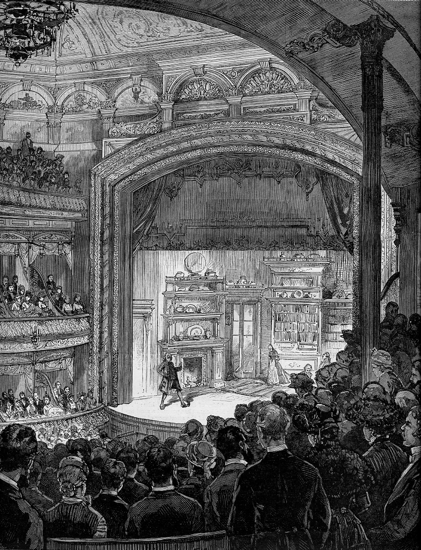 Illustration of Wallack's Theatre