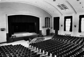 Photo of Philips Memorial Hall before renovation